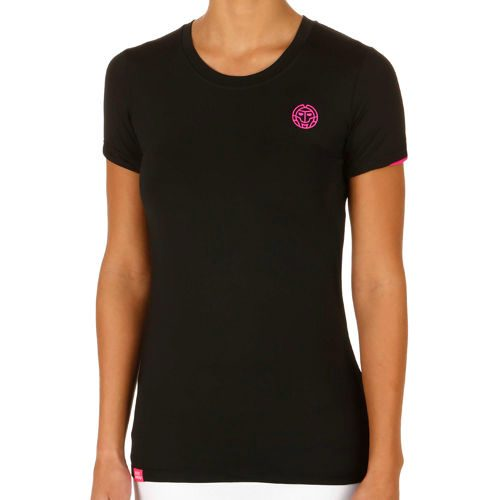 BIDI BADU Jasmin Tech Roundneck T-Shirt Women - Black