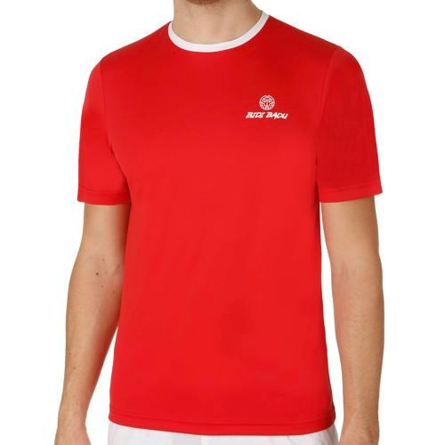 BIDI BADU Alek Tech Team T-Shirt Men - Red