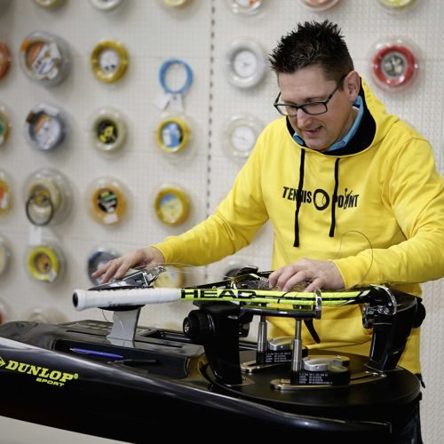 Tennis-Point Stringing service